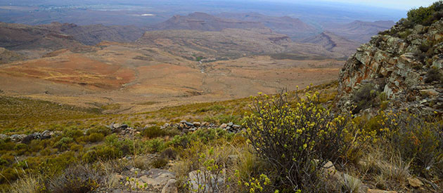 Interesting Geological Information at the Karoo National Park : SANParks, www.south-africa-info.co.za